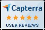 5 Stars on Capterra